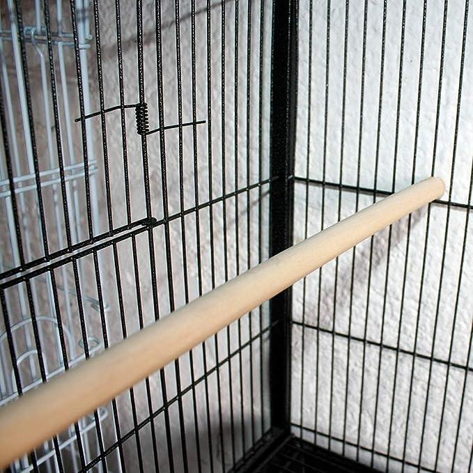 DZLL Jaula Grande Loro jaulas de cría pequeñas Jaula de Aves Loro ...