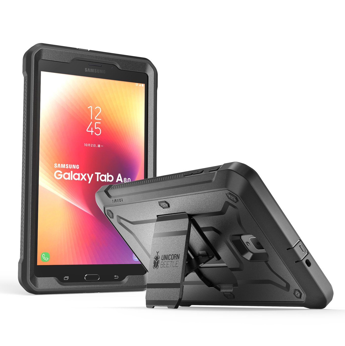 SUPCASE [UB PRO] Full-body Rugged Protective Case for Galaxy Tab A 8.0, 2017, [NOT Fit 2015 Tab A 8.0 SM-T350] ,with Built-in Screen Protector for ...