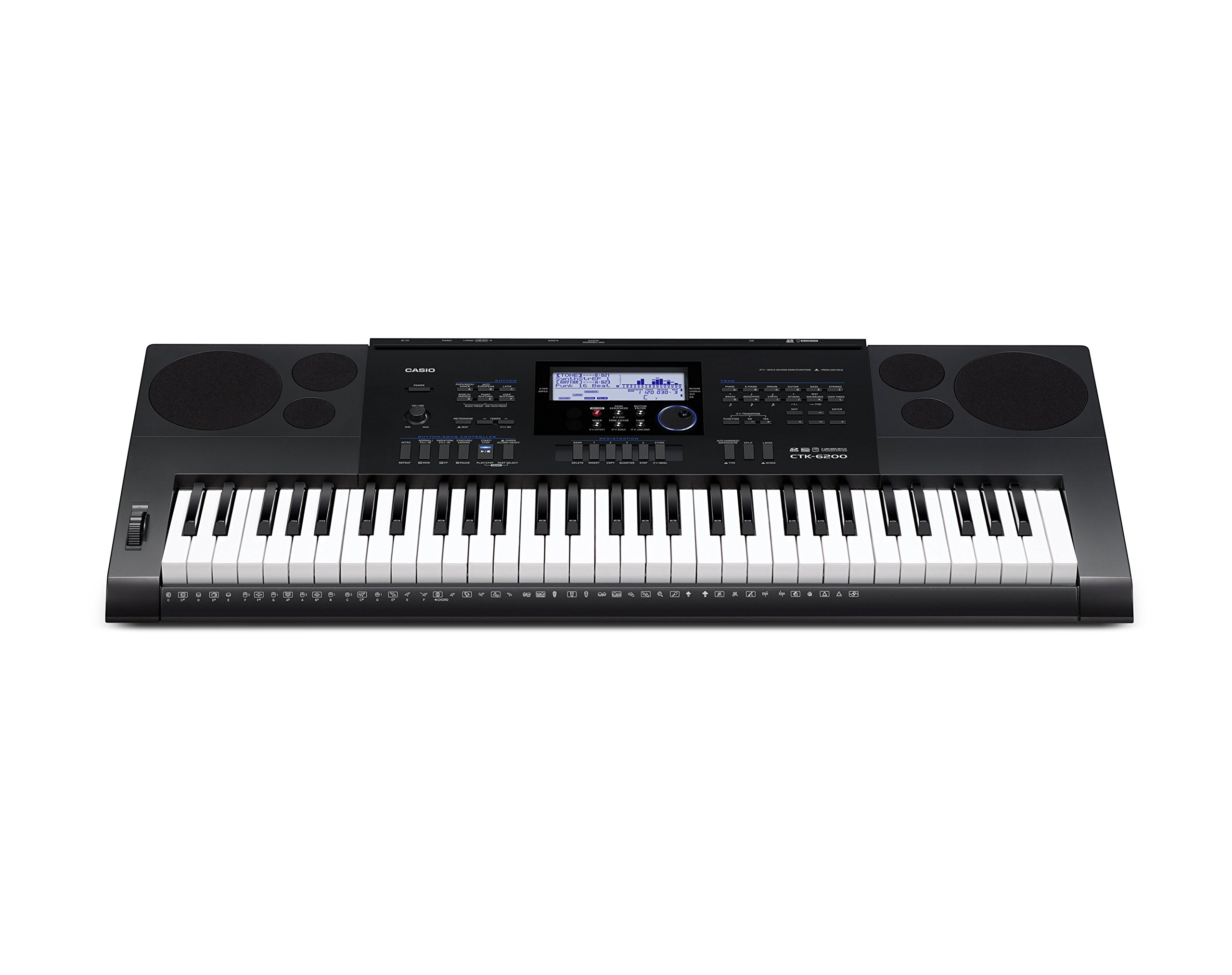 Multi-Track Virtual Recording Studio Of Casio CTK 6200