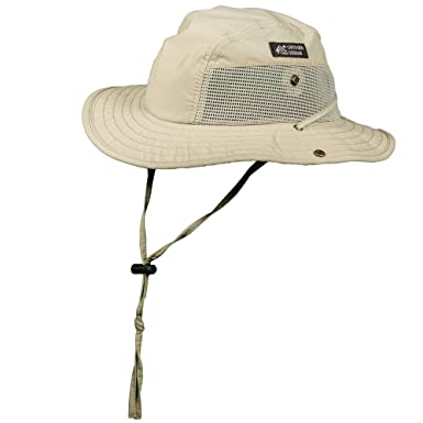 e9c27d08 Dorfman Pacific Men's 1 Piece Big Brim Boonie Hat with Nylon Chin Cord at  Amazon Men's Clothing store: Safari Hat For Men