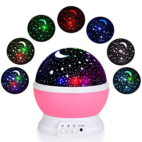 Buy Multi Color Night Star Portable Cbex Light Master Romantic EHD2W9I