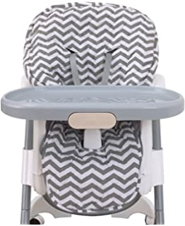 Amazing NoJo High Chair Cover Pad   Chevron Gray