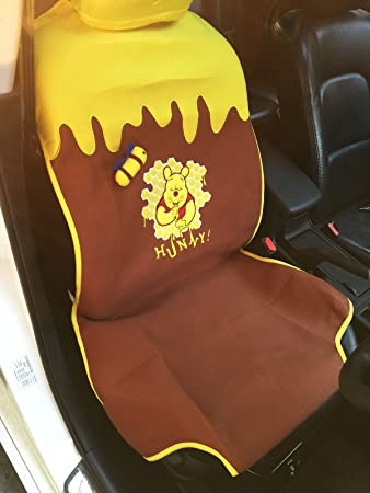 Winnie The Pooh 1 Piece Car Front Seat Cover Disney Licensed 10