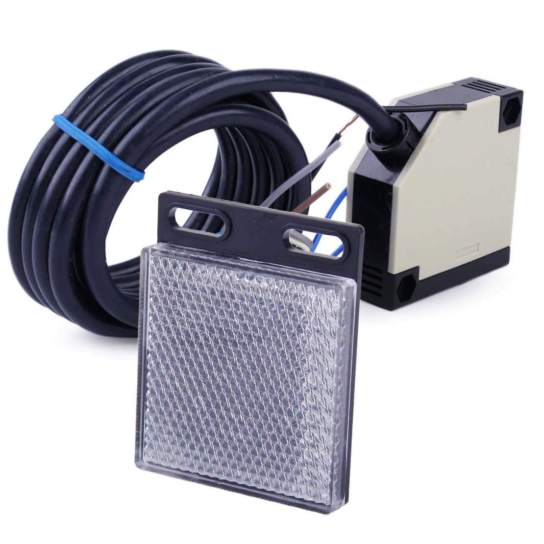E3JK-R4M1  Lichtschranke Sensor Schalter 90-250VAC 12-240VAC//DC DC12-24V