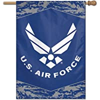 "$22 » WinCraft Military Air Force 43677117 United States Air Force Digi Camo 28"" x 40"" Vertical…"