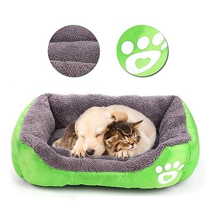 Cama para Perro, Cama para Gato, Cama de Mascota, Suave Sofá Cesta Perro