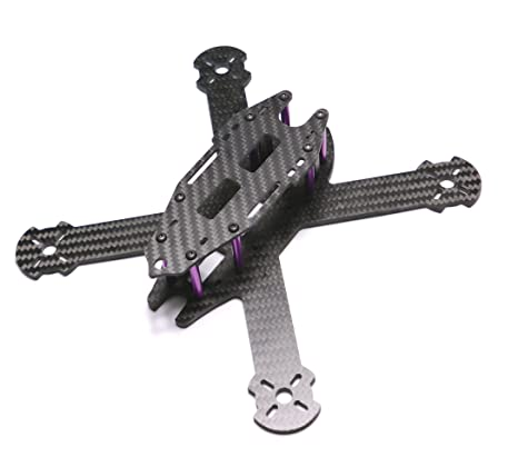 Amazon.com: YoungRC 210mm FPV Racing Drone Frame Stretch X Carbon ...