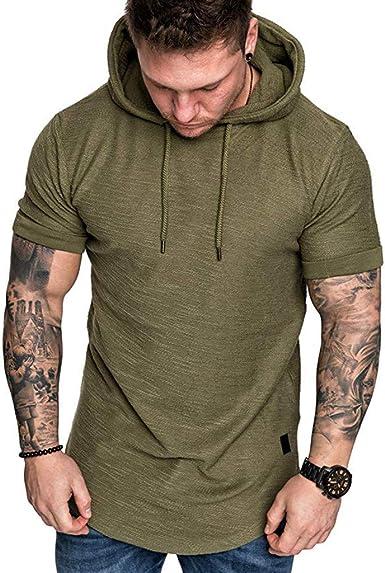 Kirbaez Men/'s Polo Shirts Summer Fashion Short Sleeve Slim Fit Personality Zipper Casual Sport T-Shirts Tops Blouse