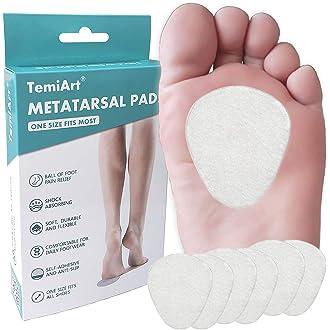 transparente ESjasnyfall Par de almohadillas de gel de silicona para cojines de pie Plantillas de soporte metatarsiano Almohadilla de inserci/ón Accesorios para zapatos universales