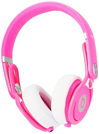 Beats By Dre Mixr On Ear Headphone Color Pink Renewed
