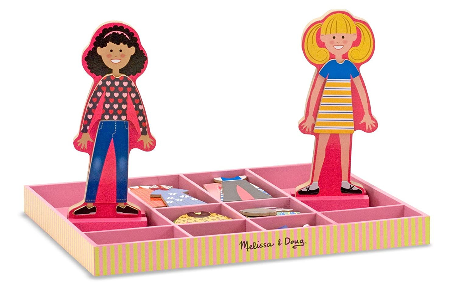 Melissa & Doug - Abby und Emma Magnetische Anzieh, Puppen By (author) Not Applicable 14940