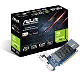 ASUS GT710-SL-2GD5 GeForce GT 710 2 GB 902/5010 MHz GDDR5 PCI Express 2.0 Silent Graphics Card - Black