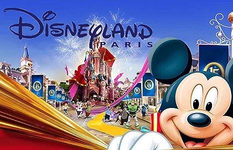 Novedad Disneyland París - Llavero: Amazon.es: Hogar
