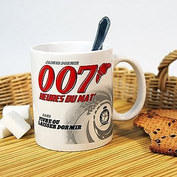 007 Humoristique Du Mat Mug Heures yf6Y7bg
