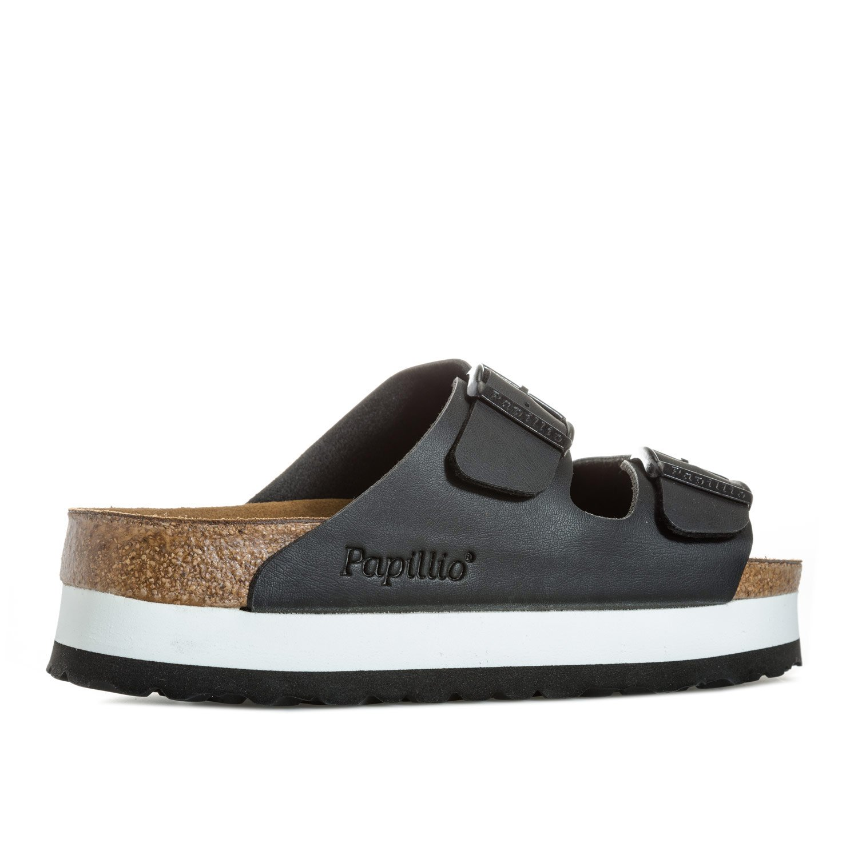 57c553a1a549 Papillio Womens Womens Arizona Platform Sandals Narrow Width in Black - UK  5  Amazon.co.uk  Shoes   Bags
