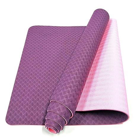 BLTX Esterilla para Yoga/Doble Cara/Pilates/Gimnasia De ...