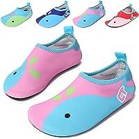 Amkun Kids Water Shoes Swim Shoes Mutifunctional Quick Drying Barefoot Aqua Socks for Beach Pool