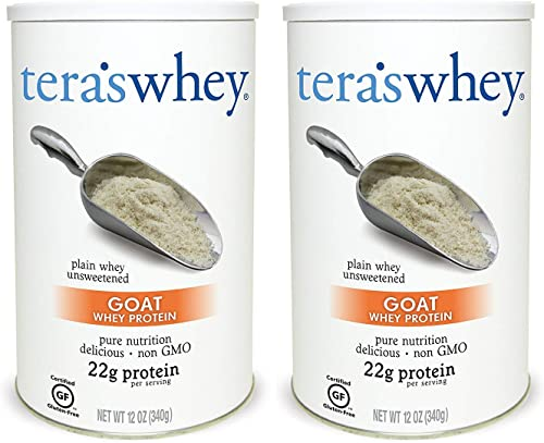 Goat s Whey Protein , Plain , 12 oz Pack of 2