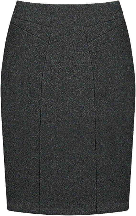 Moollyfox Faldas De Tubo Cortas Falda De Mujer Estrecho Atractiva ...