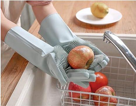 """Résultat de recherche d'images pour """"magic rubber silicone dishwashing gloves"""""""
