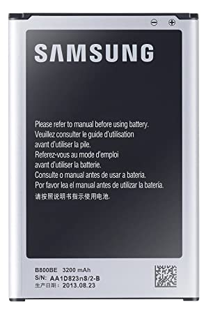 Samsung EB-B800BE - Batería Galaxy Note 3, Color Negro- Versión Extranjera