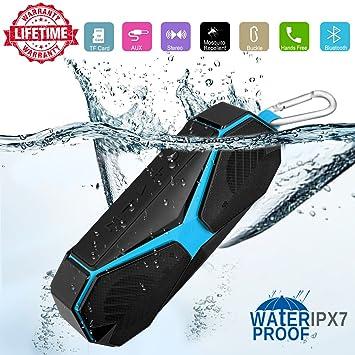 Bluetooth Lautsprecher Boxen, Ipx7 Wasserdicht Abwehrmittel Stoßfest  Kabellose Tragbare Klein Lautsprecher, Handy Außen Mini Center Einbau  Lautsprecher ...
