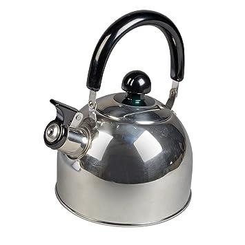 Flötenkessel Wasserkessel Teekessel Teekanne Edelstahl Pfeifton Rostfrei
