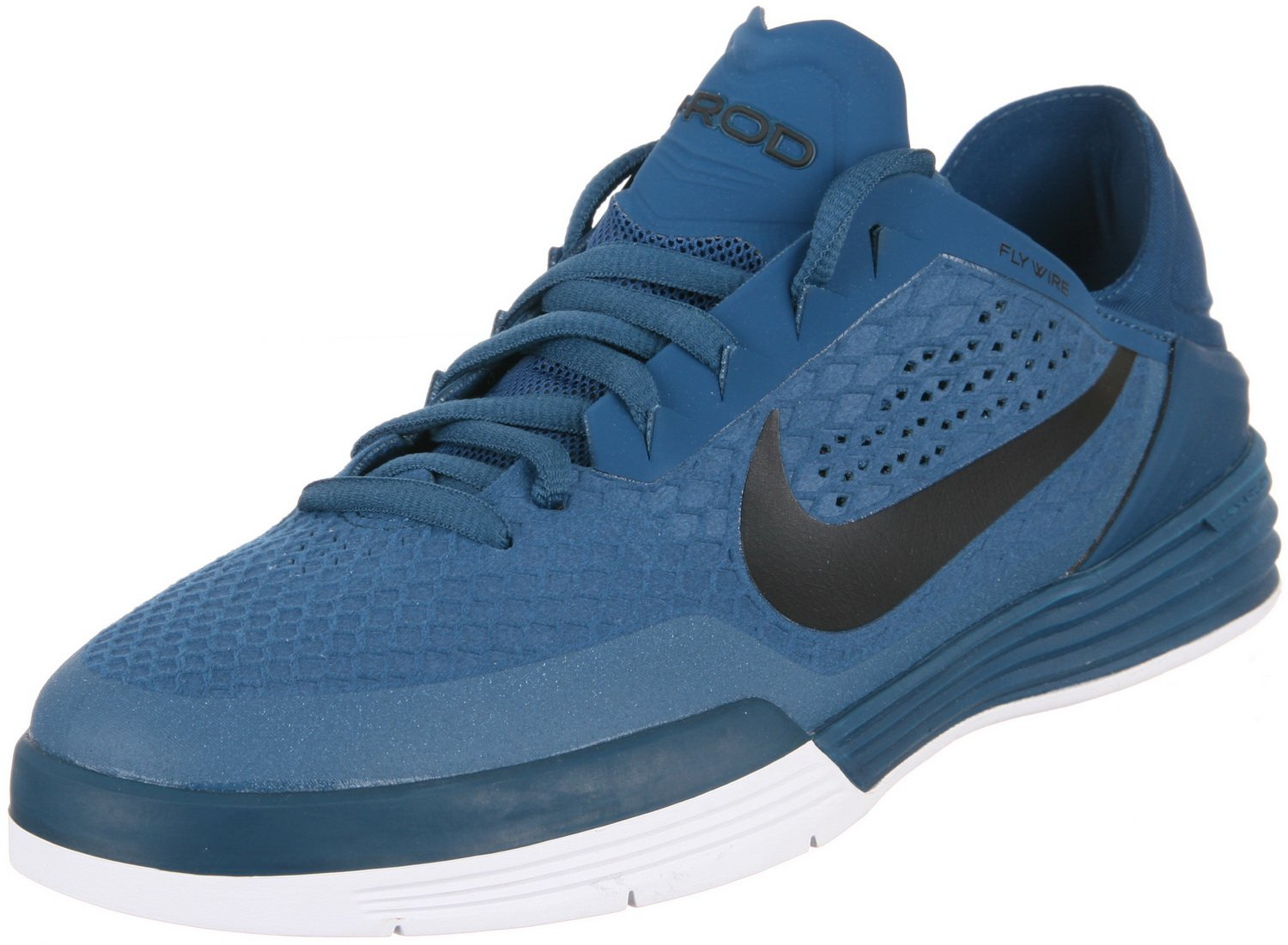 Nike Paul Rodriguez 8 Men Round Toe Synthetic Black Sneakers 11 D(M) US|Blue Force/Black-white