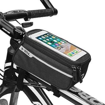 Bolsa de Cuadro de Bicicleta, Bolsa Impermeable para Tubo de Techo ...