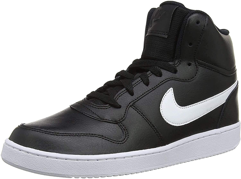 Ebernon Mid Leather Basketball Shoes