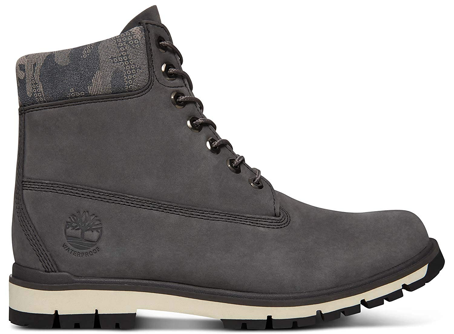 Timberland Hombres Forged Iron Gris Radford 6 Inch Botas