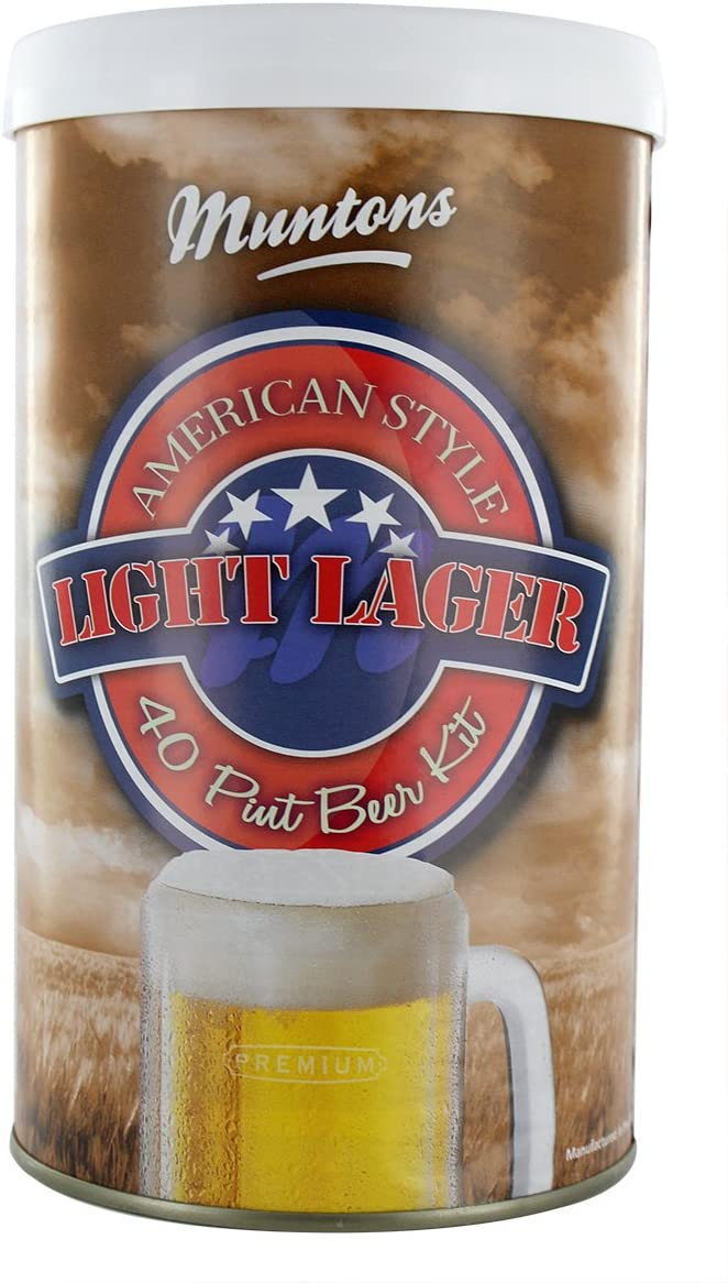 Kit Cerveza American Light