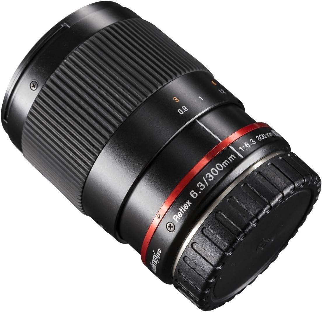 Walimex Pro 300mm 1 6 3 Objektiv Für Fuji X Schwarz Kamera