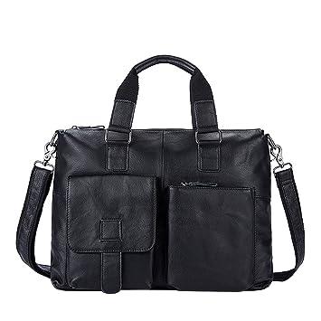 2f5008908078 NOTAG Messenger Bag Leather Shoulder Bag 15 Inch Laptop Briefcase Large  Capacity Business Handbag Waterproof Satchel