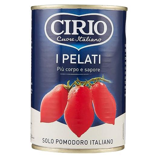 6 opinioni per Cirio- Pomodori Pelati, senza Glutine- 400 g