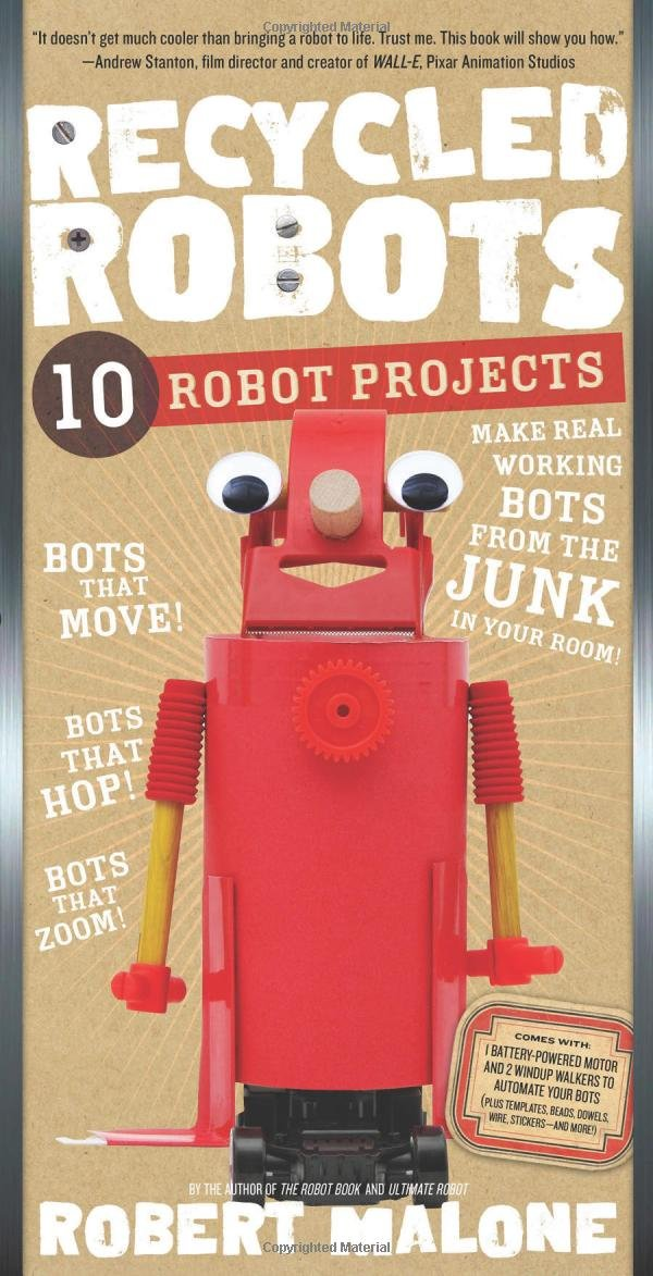 Recycled Robots: 10 Robot Projects by Workman Publishing Company (Image #1)