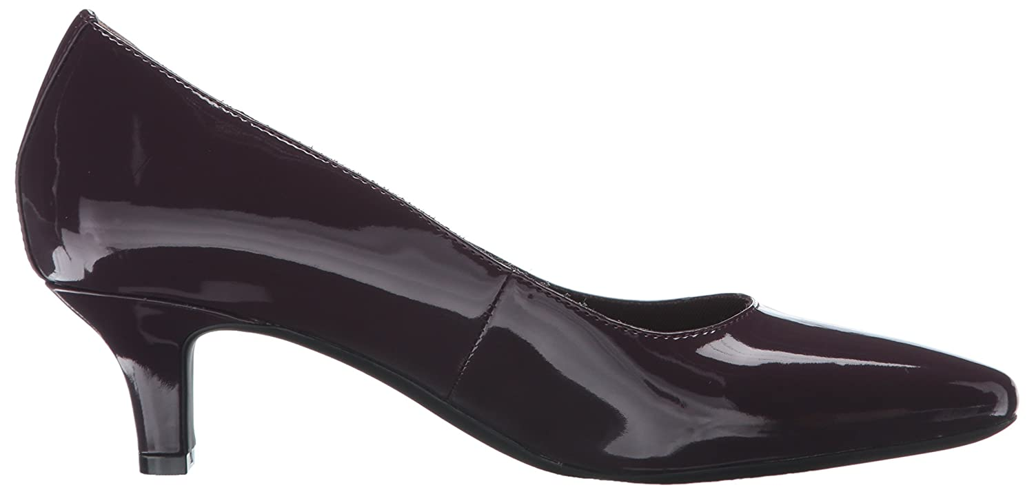 Rockport Women's Kimly Kirsie Dress Pump B01D3NREK4 6.5 B(M) US|Dark Vino Patent