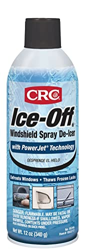 CRC 05346 Ice-Off Spray De-Icer (12 Oz)