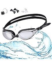 39a7952fa6 EZfull Gafas de Natación Gafas para Nadar Anti Niebla y Anti Rayos UV para Hombres  Mujeres