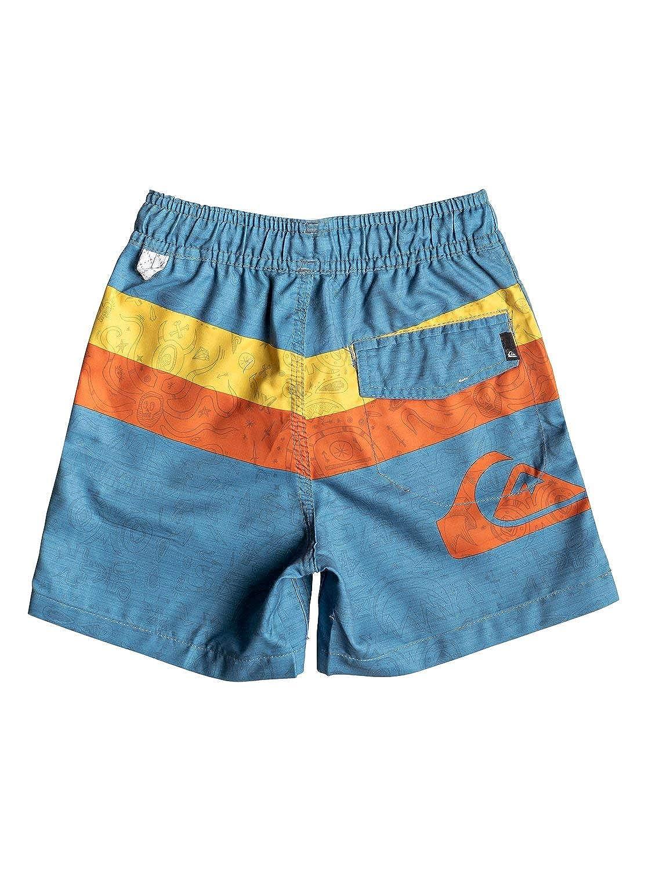 Quiksilver Mystery Bus 12 Boys 2-7 Blue 5 Swim Shorts