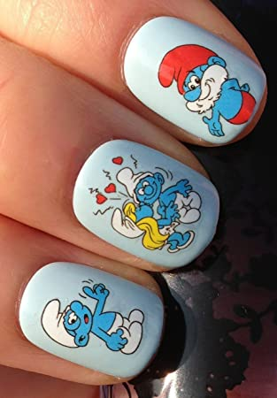 Amazon.com: Adorado – pegatinas de uñas Nail Art tatuaje ...