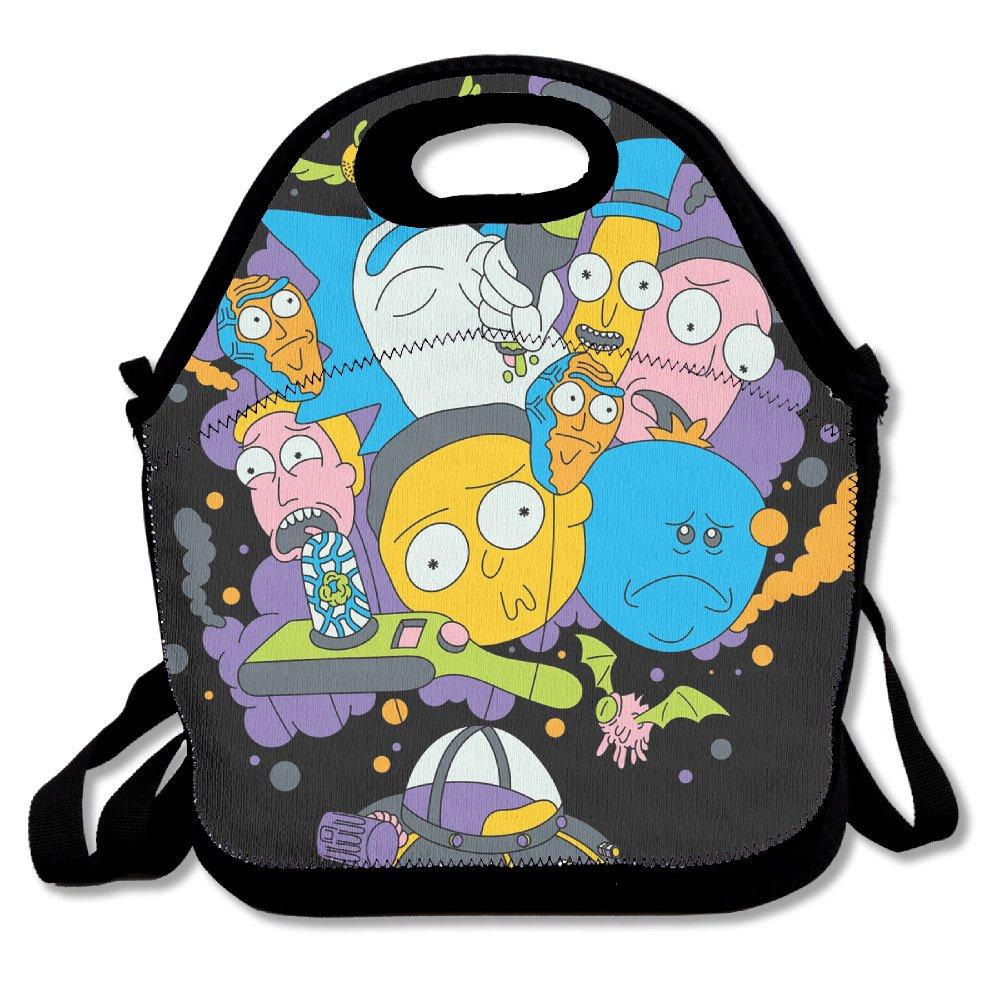 nadeshop Rick y Morty bolsa para el almuerzo Tote