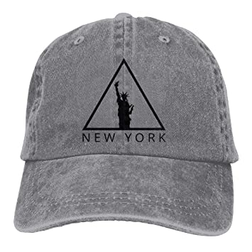 hanbaozhou Gorras béisbol Statue of Liberty New York City Denim Hat Unisex Vintage Baseball Hat: Amazon.es: Deportes y aire libre
