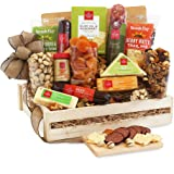 California Delicious Meat and Cheese Gift Crate Deluxe