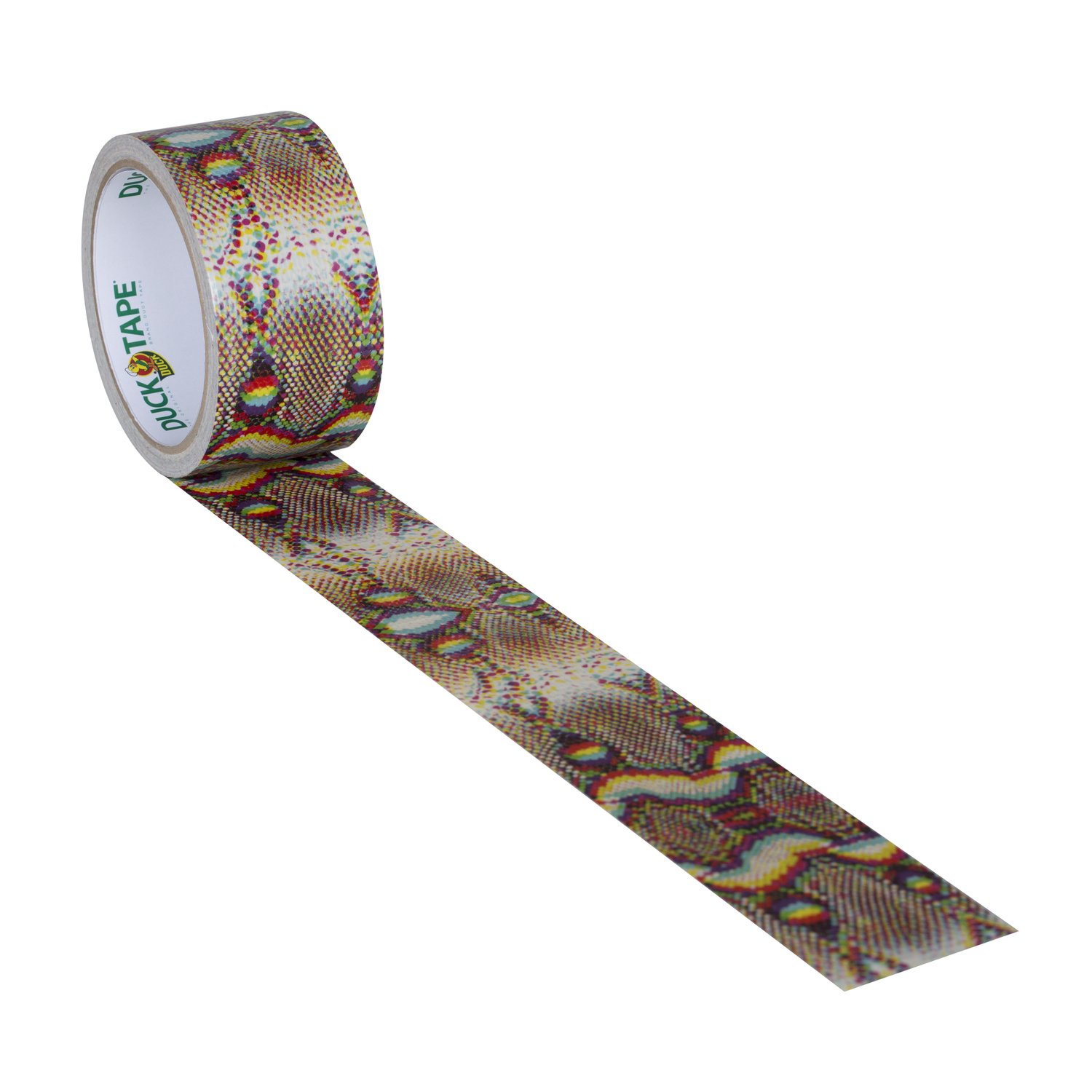 Duck Brand 1379347 Printed Duct Tape, Spotted Leopard, 1.88 Inches x 10 Yards, Single Roll Accessories