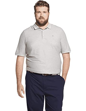 67b38dab7ee IZOD Men's Big and Tall Advantage Performance Short Sleeve Solid Polo Shirt