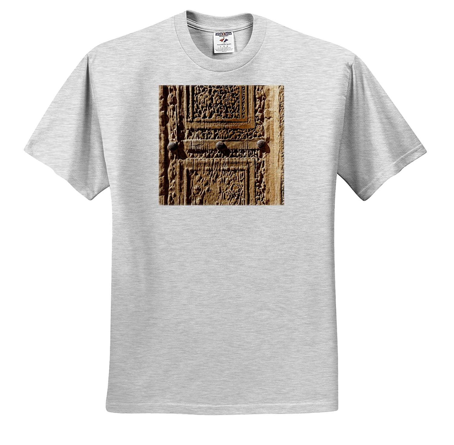 Adult T-Shirt XL ts/_312743 Abstracts Old Door Central Iran Jameh Mosque 3dRose Danita Delimont Natanz