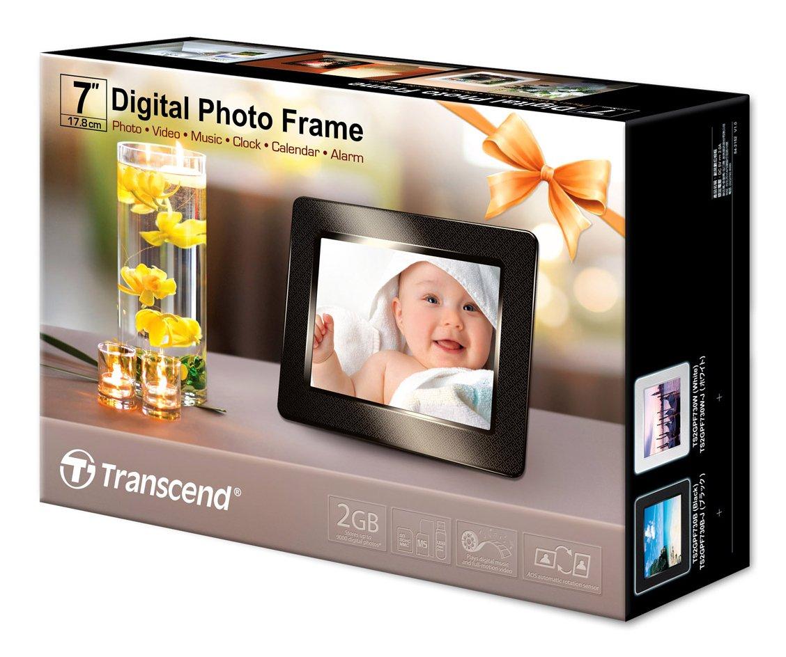 Buy Transcend PF 730 - digital photo frame Online at Low Price in ...