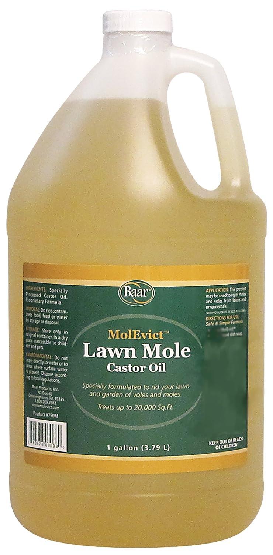 Baar Lawn Mole Castor Oil, MolEvict, Gallon
