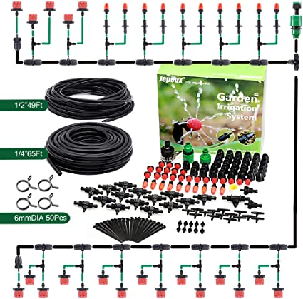 Micro Garden Irrigation Watering System Sprayer Dripper Connectors Tube Fittings